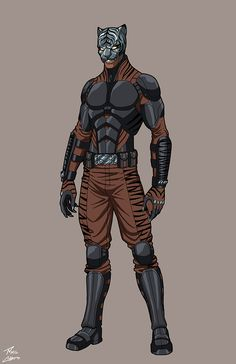 Bagha OC commission by phil-cho on DeviantArt Marvel Dc, Marvel Heroes, Comic Character, Character Concept, New Superheroes, Avengers Coloring Pages, Alternative Comics, Black Batman, Black Comics
