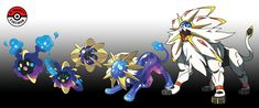 In-Progress Pokemon Evolutions — are extremely rare and elusive. Pokemon Solgaleo, Pokemon Rayquaza, Pokemon Breeds, Pokemon Fan Art, Pokemon Fusion, Cute Pokemon Wallpaper, Curious Creatures, Creature Design, Digimon