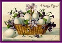 Victorian Easter-so many vintage greetings