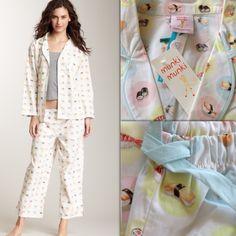 ‼️2016 SALE‼️NWT Munki  PJ Sushi Set New with tags! Adorable 100% cotton sushi pajama set. Long sleeve top, drawstring waist capri bottoms. Munki Munki Other
