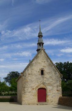 Haute-cour du château du BOIS ORCAN, chapelle, XVe siècle, classée au titre des Monuments Historiques
