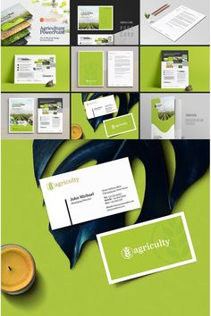 **Agriculture Farm House Business Branding Corporate Identity Bundle**Templates are editable text, logo, colour and resizable/scalable vector based designed in Agriculture Facts, Agriculture Tractor, Agriculture Machine, Corporate Identity Design, Business Branding, Business Design, Agricultural Engineering, Agricultural Buildings, Precision Agriculture