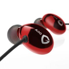 RedGiant Earphones: Let the massive dynamic-driver sound quality paint a new masterpiece soundtrack for your daily activities. Red Giant, In Ear Headphones, Malleus, Iron, Daily Activities, Soundtrack, Tech, Paint, Music