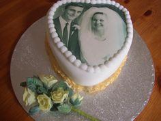 50th wedding anniversary cake 50th Wedding Anniversary Cakes, Cakes And More, Birthday Cakes, Celebration, Desserts, Food, Tailgate Desserts, Deserts, Essen