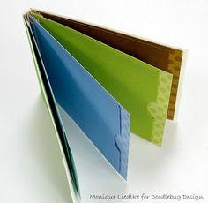 Doodlebug Design Inc Blog: Tuesday Tutorial: Mini Album Binding Technique