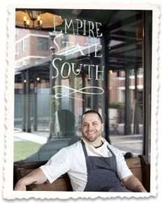 Empire State South in Atlanta, GA. Beautiful place, delicious food!