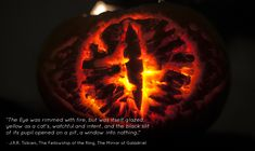 We produced three Lord of the Rings inspired pumpkins and two with a Harry Potter theme. Description from lotrproject.com. I searched for this on bing.com/images