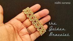 Beaded Bracelets Tutorial, Seed Bead Bracelets, Seed Bead Jewelry, Bead Jewellery, Handmade Bracelets, Loom Bracelets, Macrame Bracelets, Beaded Jewelry Patterns, Beading Patterns