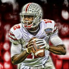 Cardale Jones #12Gauge Ohio State Football