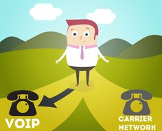 Situations where we prefer VoIP over Carrier networks #1:  When you need affordable means of communication #2:  When you step into a Wi-Fi Hotspot #3:  When you want to start a Video call #4:  When you run out of balance to make calls  To know in detail, check out our blog post #voip     #carriernetworks