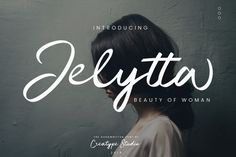 Jelytta Script Font Demo is a trial version of Jelytta script. Jelytta means the beauty of woman in Bahasa. This font