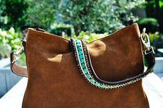 #turquoise #tigerbag #turquoisebag #brownbag #cognacbag #cognac #karman #karmanbag #bag #strap #handbag #shoulderbag #bagstrap #handstrap #shoulderstrap #leatherbag #suede #bagbrand #suedebag #suedefashion #fashion #embellishedbag #embellished #gemstones #bag-gemstones #cote-d'azur #orientalbag #oriental #brigittebardot #cannes