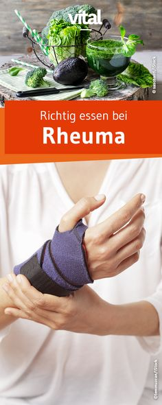 Richtig essen bei Rheuma Women meet rheumatism three times as often as men. The chronic arthritis ca Healthy Lifestyle Habits, Healthy Habits, Healthy Tips, How To Stay Healthy, Rheumatische Arthritis, Healthy Sport, Healthy Morning Routine, Eating Fast, Healthy Sandwiches