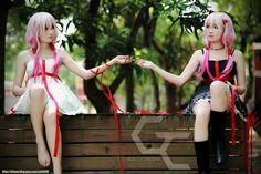 Guilty Crown Inori cosplay girls.
