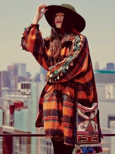 Wandering the city in Fall  Free People This Place Tassel Jacket, $750.00