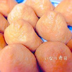 じゅわ〜っと美味しいおあげ 無性に食べたくなる時があります(*´艸`*) - 19件のもぐもぐ - いなり寿司 by peko0302