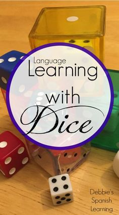 A plethora of ideas for using dice when you teach another language.