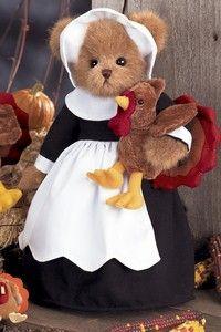 Thanksgiving Teddy Bear Gabby & Gobbles❤❤❤
