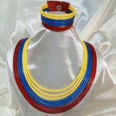 Collar piel de serpiente tricolor con pulsera Cool Stuff, Natural, Earrings, Jewelry, Design, Style, Amor, Rosaries, Chokers
