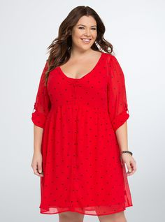 <p>This shirt dress goes out to all the lonely hearts out there...although…