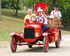 Firetruck at Greenfield Village | Flickr - Photo Sharing!