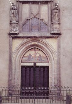 Martin Luther pinned his 95 theses to this door  - Wittenburg, Germany '93 by Mikey G Ottawa, via Flickr