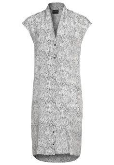 Selected Femme - MEGAN - Blusenkleid - grey