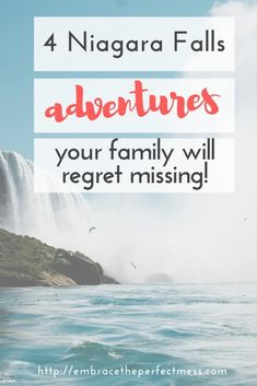 There are so many fun things to do in Niagara Falls with kids. Here are 4 things I would absolutely recommend to any family visiting Niagara Falls! Niagara Falls Vacation, Niagara Falls Camping, Visiting Niagara Falls, Niagara Falls Ny, Niagara Falls Things To Do, York Things To Do, Cheap Things To Do, Fun Things, Fall Vacations