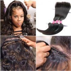 Braid In Bundles No Sew No Crochet No Glue Best Virgin Hair Weave