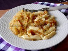 Kulinarne Szaleństwa Margarytki: Kopytka (poznańskie szagówki) - przepis podstawowy Apple Pie, Macaroni And Cheese, Ethnic Recipes, Desserts, Pierogi, Food, Easy Meals, Essen, Tailgate Desserts