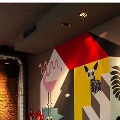 @evelileve . . . #artwork #artdesigner #restaurantdesign #bardesign #interiorlovers #interiordesign  #interior4inspo Restaurant Design, Neon Signs, Interior Design, Artwork, Instagram, Home Decor, Interior Design Studio, Art Work, Work Of Art