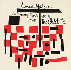 Lennie Niehaus : Lennie Niehaus Vol 3 -- The Octet No 2 (LP, Vinyl record album) Cd Cover Art, Album Cover Design, Lp Cover, Vinyl Cover, Vintage Illustration Art, Graphic Design Illustration, Music Album Covers, Music Artwork, Design Graphique