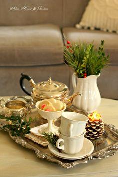 Aiken House & Gardens: Afternoon Tea Break  .... ♥♥ ....