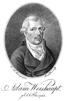 Johann Adam Weishaupt (6 February 1748 – 18 November 1830[1][2][3][4]) was a German philosopher and founder of the Order of the Illuminati, a secret society.