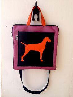 Hande made vizsla bag made by ZsurigoWorks. You can order at her facebook page.