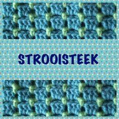 De Strooisteek of Bloksteek - Breiclub.nl