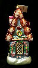 Christopher Radko 98 Limited Sugar Shack Retired Christmas Ornament & box LARGE