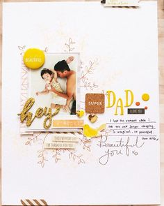 Such a precious layout created by Evelyn(@geekgalz)!#altenew #scrapbook #layout…