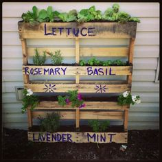 How To Keep The Dirt In A Pallet Planter ? • 1001 Pallets