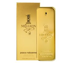 ONE MILLION for men was launched by the designer house of PACO RABANNE in 2008.  This scent possesses a blend of sparkling grapefruit, red orange, mint, rose, cinnamon, spices, blond leather, blond wood, patchouli and amber. $52.99