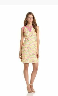 Lilly Pulitzer Percy Dress Floral Sunbonnet Lace  Sale $238.00 New w/Tags #LillyPulitzer #Shift