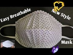 Face Mask Sewing Tutorial (Breathable Face Mask) / Make Easy Face Mask at Home / DIY Cloth Face Mask Face Mask Sewing Tutorial (Breathable Face Mask) / Make Easy Face Mask at Home / DIY Cloth Face Mask - YouTube<br> Easy Face Masks, Mask Making, Sewing Tutorials, Make It Simple, Crochet Hats, Youtube, How To Make, Diy, Clothes