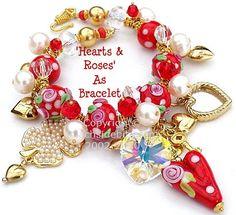 """<3 bracelet by Hazel of """"Beachside Bits"""""""