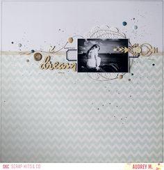 SCRAP KITS & CO: Kit add-on embellissements d'octobre - Dream