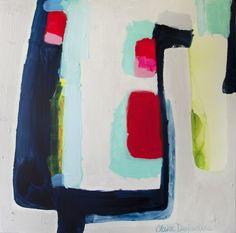 """Saatchi Online Artist: Claire Desjardins; Acrylic, 2012, Painting """"Go"""""""
