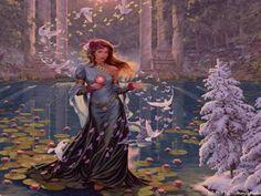 Celtic Moon Goddess Rhiannon