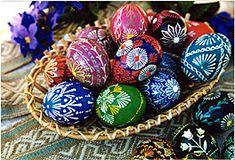 Lithuanian Easter Eggs...So pretty!!:)