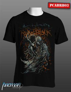 Kaos As Blood Runs Black (PCABRB003) CP : 083849642779 Band Merch, Music Stuff, Running, Blood, Mens Tops, T Shirt, Metal, Fashion, Supreme T Shirt