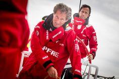 Michel Desjoyeaux et Iker Martinez, Chef de quart et Skipper de Mapfre © M Muina #VolvoOceanRace  | www.scanvoile.com