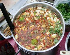 Thai Food Menu, Best Thai Food, Cooking Fresh Green Beans, Laos Food, Thai Street Food, Cooking Spaghetti, Clean Recipes, No Cook Meals, My Favorite Food